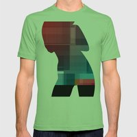 October Mens Fitted Tee Grass SMALL