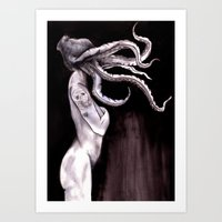Something Touched Me and I Was Only Sleeping Art Print