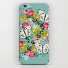 Buckeye Butterly Florals by Andrea Lauren  iPhone & iPod Skin
