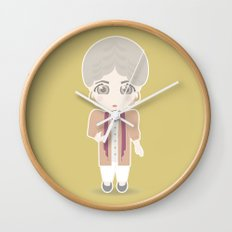 Girls in their Golden Years - Dorothy Wall Clock