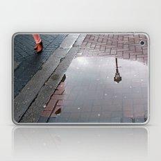 Dublin puddle Laptop & iPad Skin