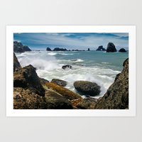 Oregon Coast fine art print Art Print