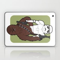 Chewbacca and Stormtrooper Laptop & iPad Skin