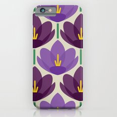 Crocus Flower Slim Case iPhone 6s
