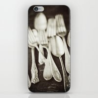 Antique Silverware  iPhone & iPod Skin