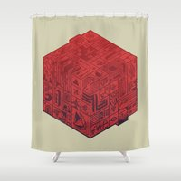 The Folly Of Time And Sp… Shower Curtain
