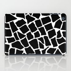 Mosaic Zoom Black and White iPad Case