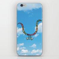 snake skate iPhone & iPod Skin