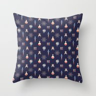 Throw Pillow featuring Science by Wharton