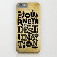 The Journey Is The Desti… iPhone 6 Slim Case