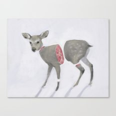 Poor Bambi Canvas Print