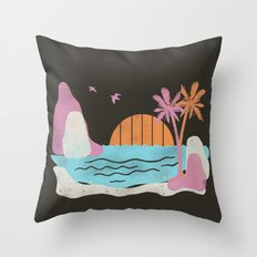 The Trops Throw Pillow