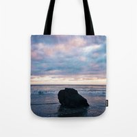 Sunset At El Pescador Be… Tote Bag
