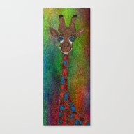 The Tall Giraffe Canvas Print