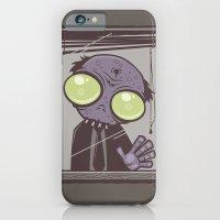 iPhone & iPod Case featuring Office Zombie by John Schwegel