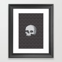Regal Macabre Framed Art Print