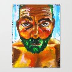 Le Frelon Étendard Canvas Print