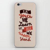 Youth & Age iPhone & iPod Skin