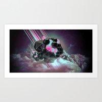 Meteor Art Print