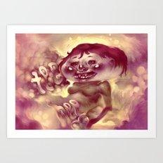 Tee Hee Art Print