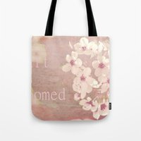 My Heart Has Bloomed Tote Bag