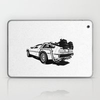 DeLorean / BW Laptop & iPad Skin