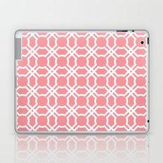 Moroccan Lattice in Coral Laptop & iPad Skin