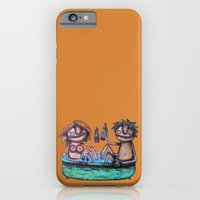 iPhone & iPod Case featuring In the bath by Rudolf Brancovsky