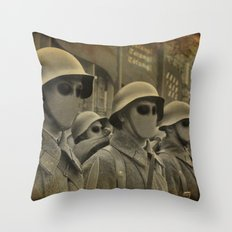 Jasperian Soldiers Throw Pillow