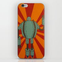 The Iron Skellington iPhone & iPod Skin