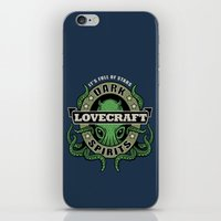 Lovecraft Dark Spirits iPhone & iPod Skin