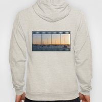 Boats and sunset Hoody