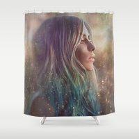 Awakening Shower Curtain