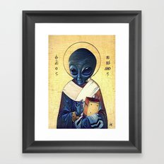 St. Alien Framed Art Print