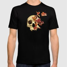 Wither Black SMALL Mens Fitted Tee