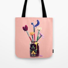 Art Imitates Life Tote Bag