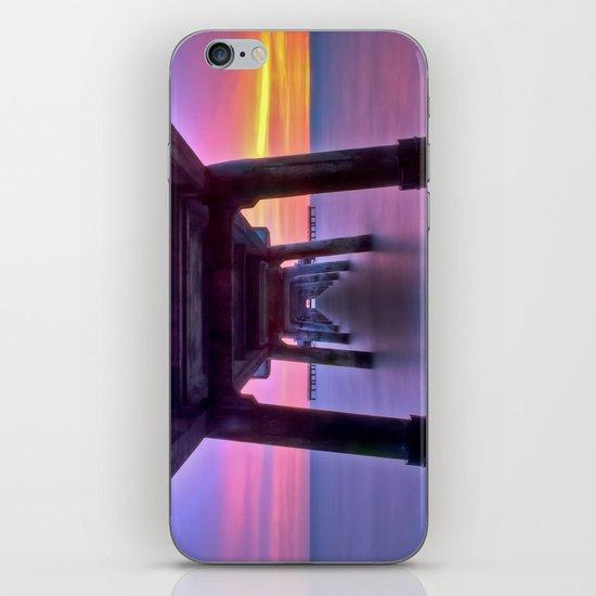 Deal Pier at Sunrise iPhone & iPod Skin