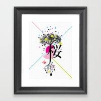 Sakura Ki Framed Art Print