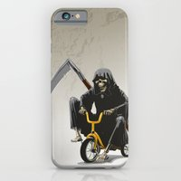 death iPhone & iPod Cases featuring Death by Antracit