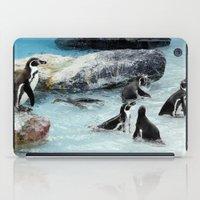 Penguins. iPad Case