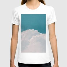 Daydream Womens Fitted Tee White SMALL