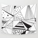 Triangle Dream Wall Tapestry