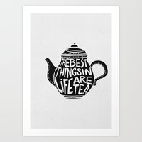 Best Things In Life Are … Art Print