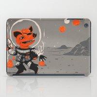 Cpt. Com. Spacecatkilla iPad Case