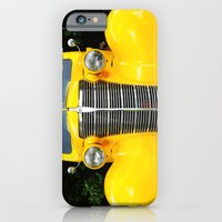 iPhone & iPod Case featuring Yellow Chevy by Captive Images Photography
