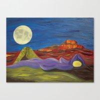 Gaia and Luna Ver. 3.0 Canvas Print
