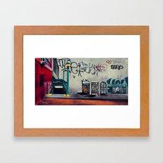 The New York Underground Framed Art Print