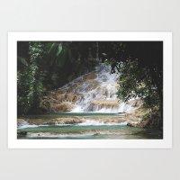 Refreshing Nature Art Print