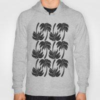 Palmtree Pattern Hoody