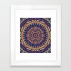 Mandala 454 Framed Art Print